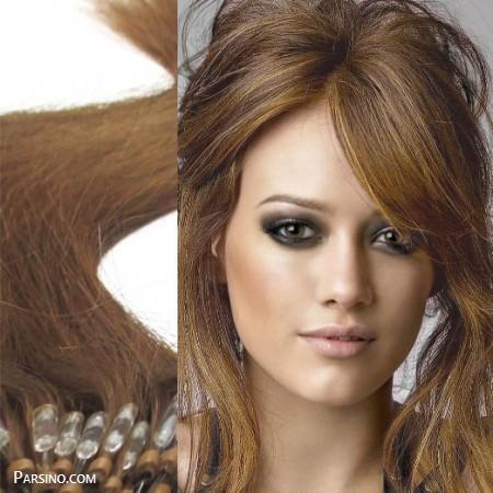 رنگ مو , رنگ موی زنانه , رنگ مو 2018 , رنگ مو نسکافه ای