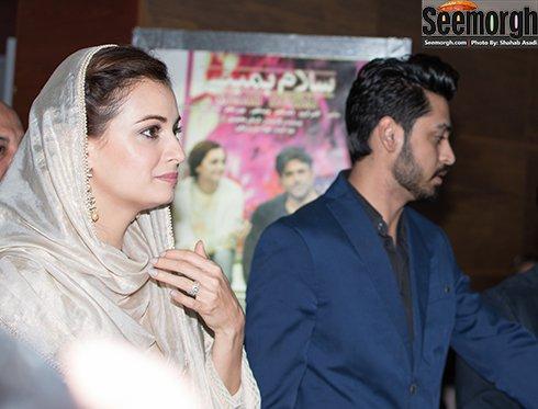ورود دیا میرزا بازیگر سلام بمبئی به پردیس ملت