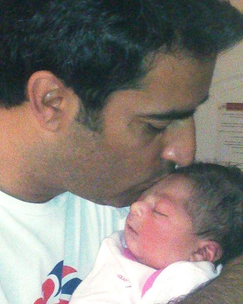 منوچهر هادی و دخترش سوفیا 2