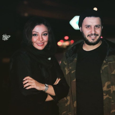 عکس مه لقا باقری و همسرش جواد عزتی